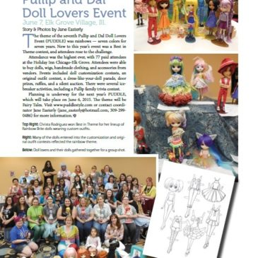 PUDDLE 2014 in DOLLS Magazine