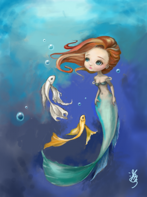 Under the Sea by Kiki and Her Dolls