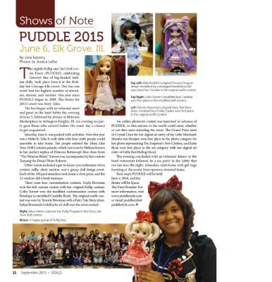 September 2015 Dolls PUDDLE