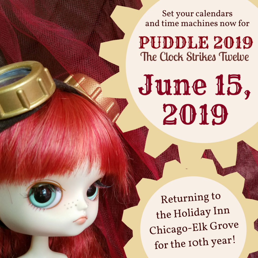 Set your calendars and time machines for the 12th PUDDLE, coming on June 15, 2019 to the Holiday Inn Chicago-Elk Grove!